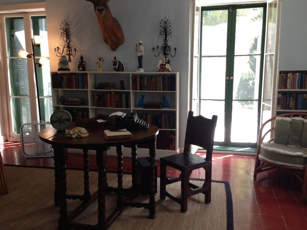 Ernest Hemingway's Writing Studio Table, Key West