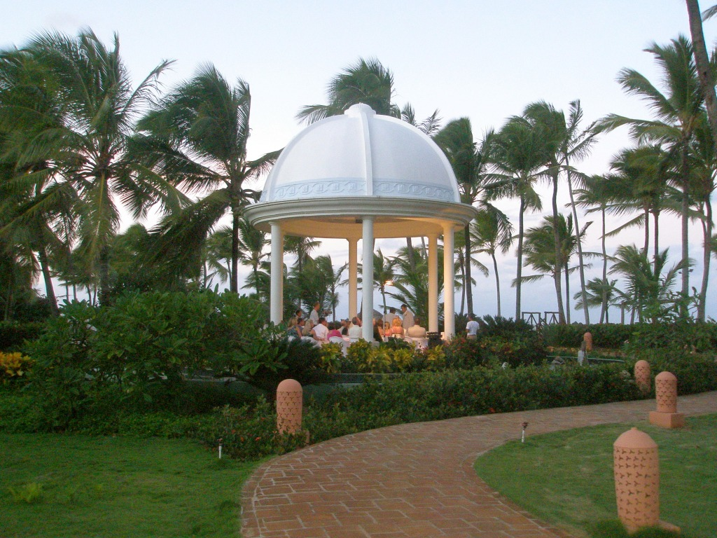 Wedding Gazebo at Excellence Punta Cana