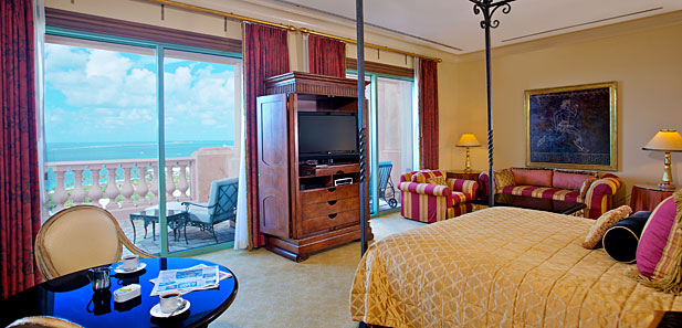 Bridge Suite Bedroom, Atlantis