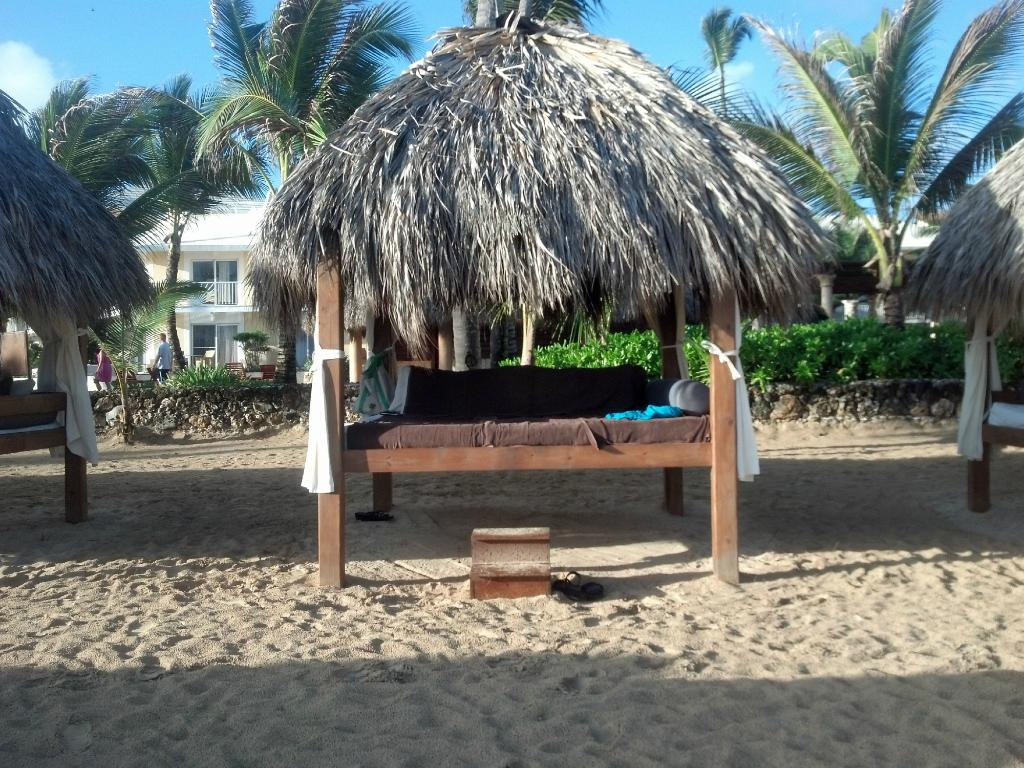 Beach Bed at Excellence Punta Cana