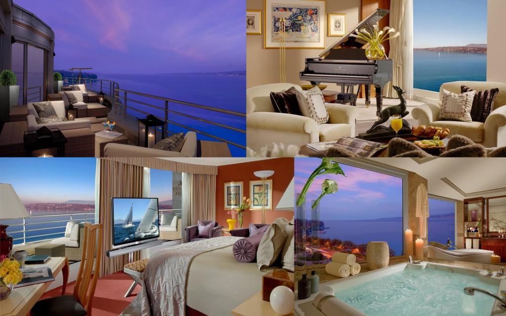 Royal Penthouse Suite - Hotel President Wilson, Geneva