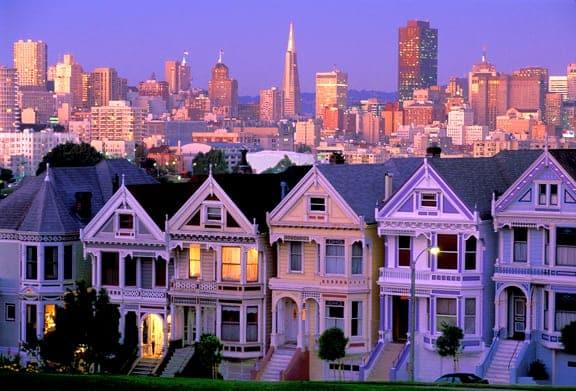 CaliforniaSanFranciscoPaintedLadiesHz