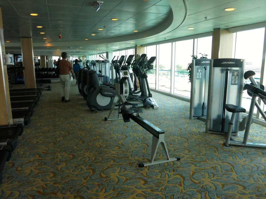 Splendour of the Seas - Fitness Center