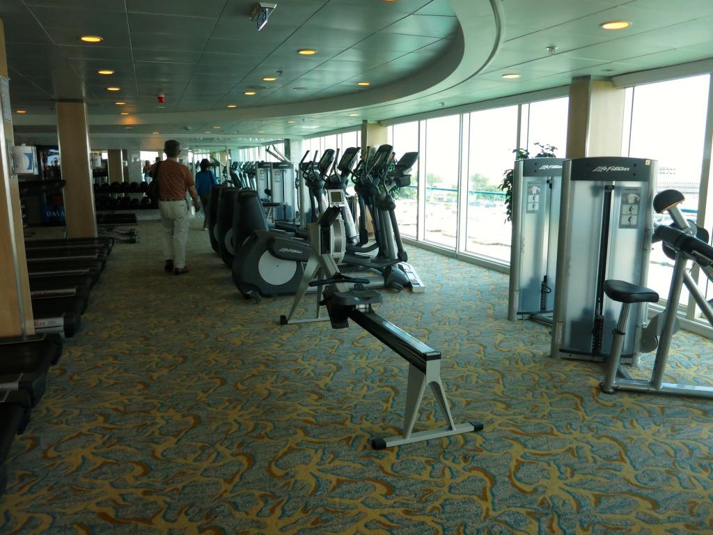 Splendour of the Seas - Fitness Center