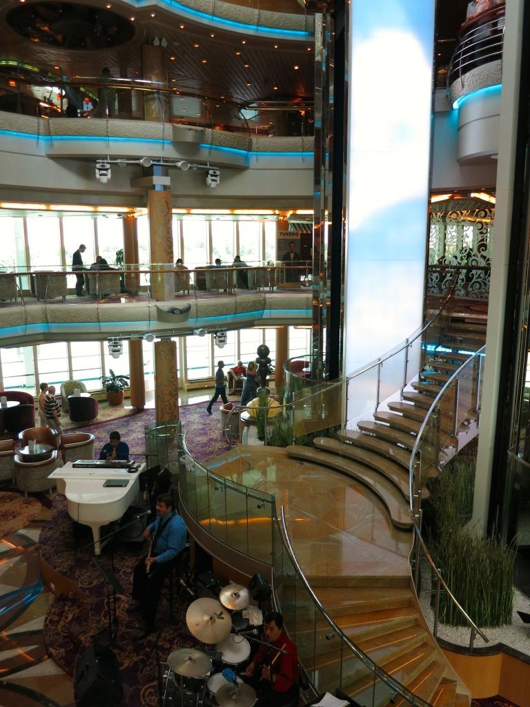 Splendor of the Seas Atrium, Royal Caribbean