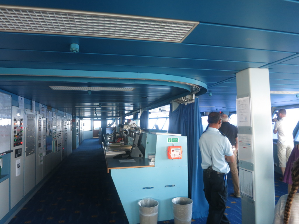 Splendour of the Seas Bridge Navigation Instruments