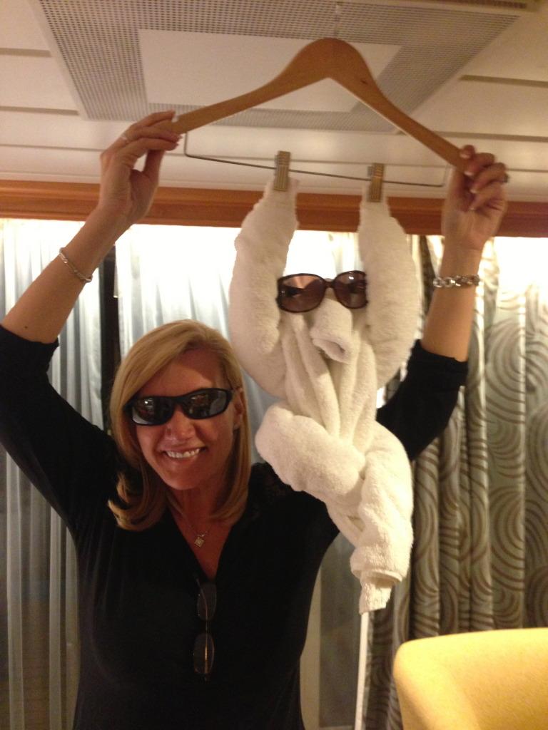 Splendour of the Seas - Stateroom Towel