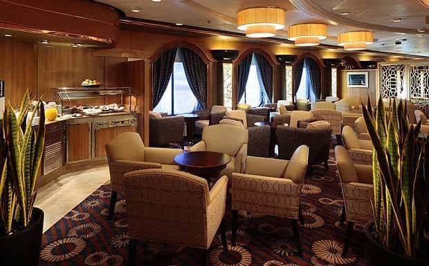 Concierge Lounge, Splendour of the Seas