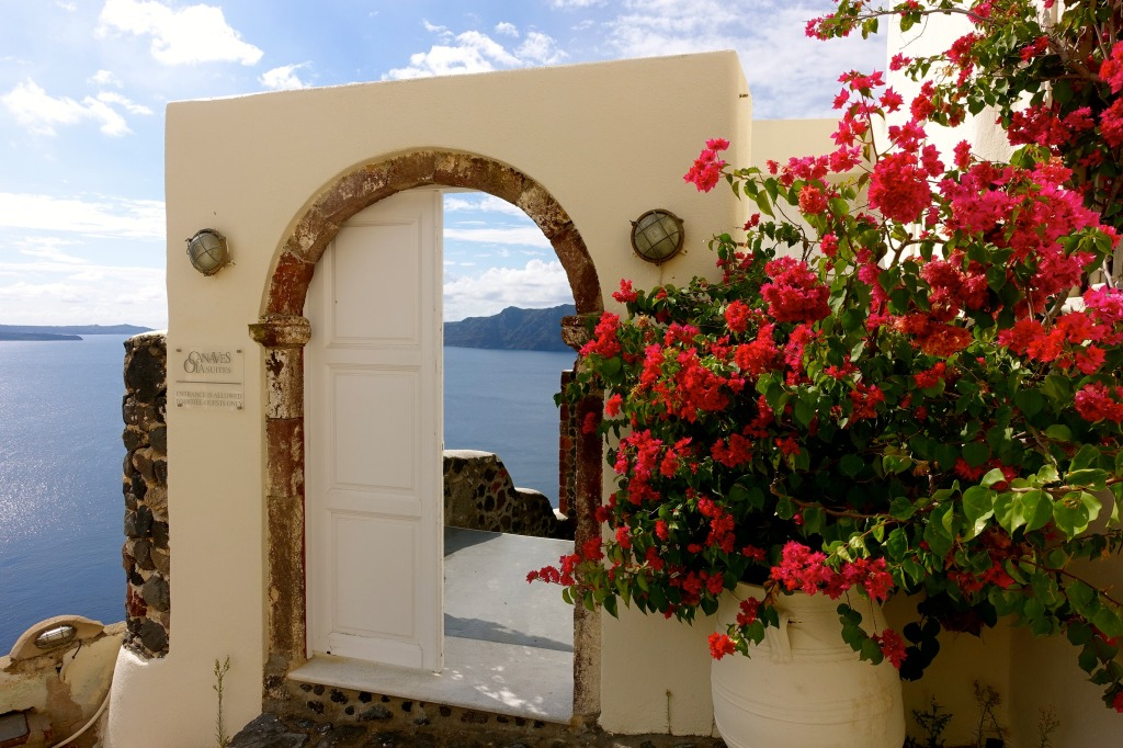 Canaves Oia Doorway, Santorini, Greece
