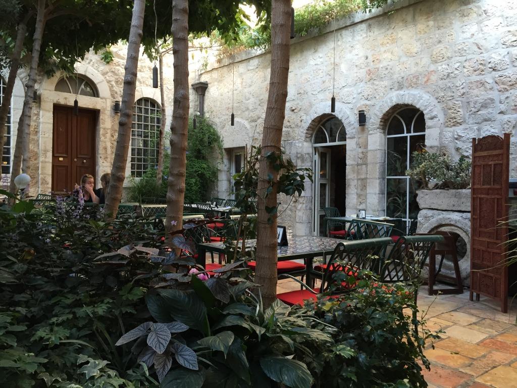 American Colony Hotel - Outdoor Patio Area