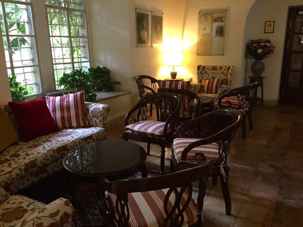 The American Colony Hotel Reception Area