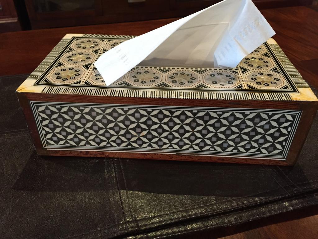 American Colony Hotel - Shops - tissue box