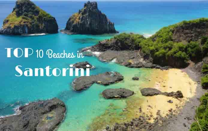 Top 10 Beaches in Santorini