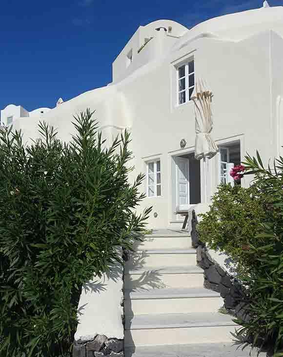 Canaves Oia Suite entrance , Santorini, Greece