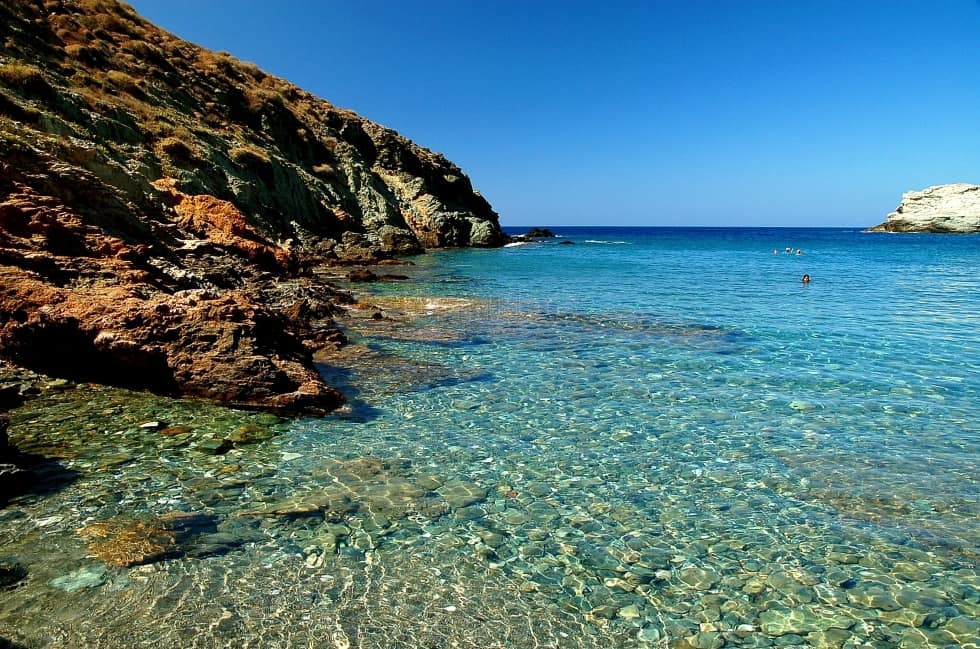 Santorini Beaches - Perissa Beach