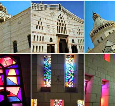 The Church of the Annunciation in Nazareth