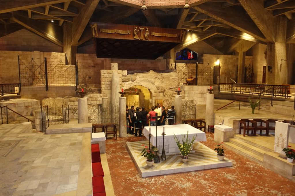 Grotto of the Annunciation Grotto of the Annunciation , Basilica of the Annunciation