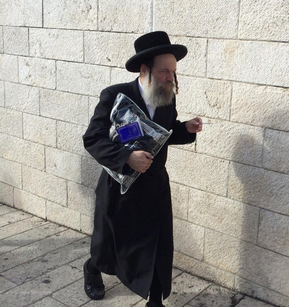 Hasidic Jew, Israel