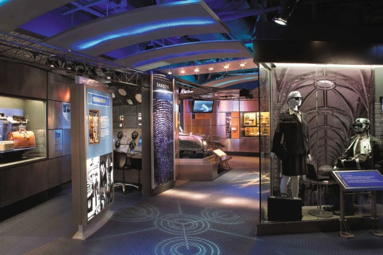 International-Spy-Museum-Display