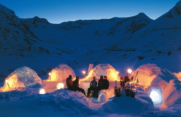Iglu-Dorf Davos Davos, Switzerland