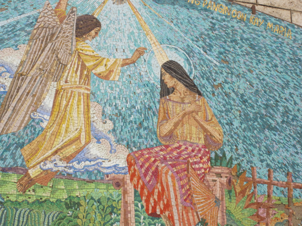 Annunciation Mosaic of Philippines