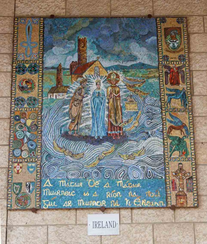 Annunciation Mosaic of Ireland