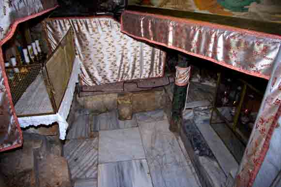 Grotto of the Nativity, the spot where the manger stood