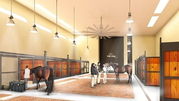 A rendering of the new equine facilities at JFK's new 'Ark' terminal. (Photo: The Ark)