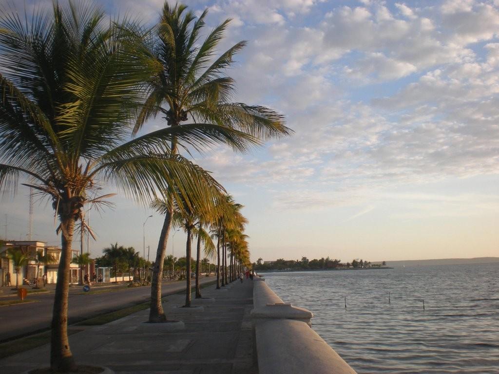 El Malecon of Cienfuegos, Cuba
