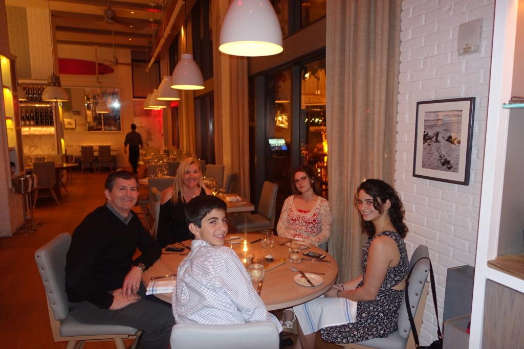 Dinner at The Dutch - W Hotel Miami Beach