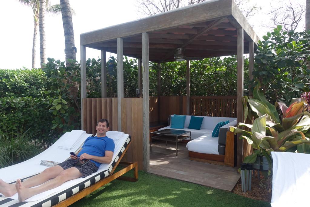 Pool Area Cabana - W Hotel South Beach
