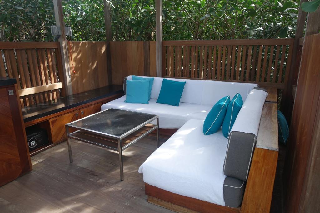 Pool Area Cabanas - W Hotel South Beach