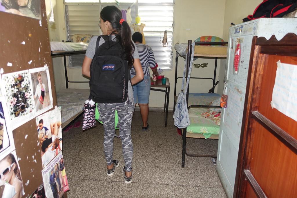 """Dorm Rooms at La Universidad Central """"Marta Abreu"""" De Las Villas, Santa Clara, Cuba"""