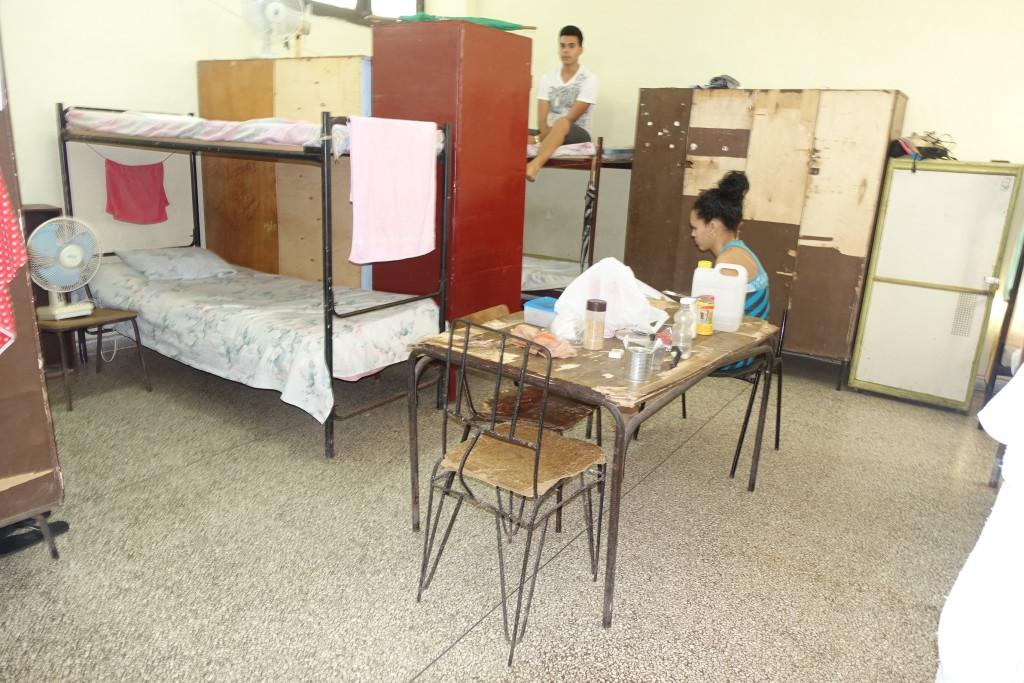 "Dorms at La Universidad Central ""Marta Abreu"" De Las Villas, Santa Clara, Cuba"