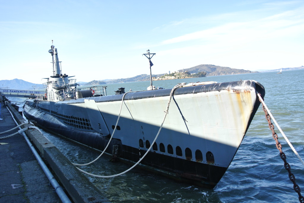 Pampanito Submarine, Fisherman's Wharf - San Francisco