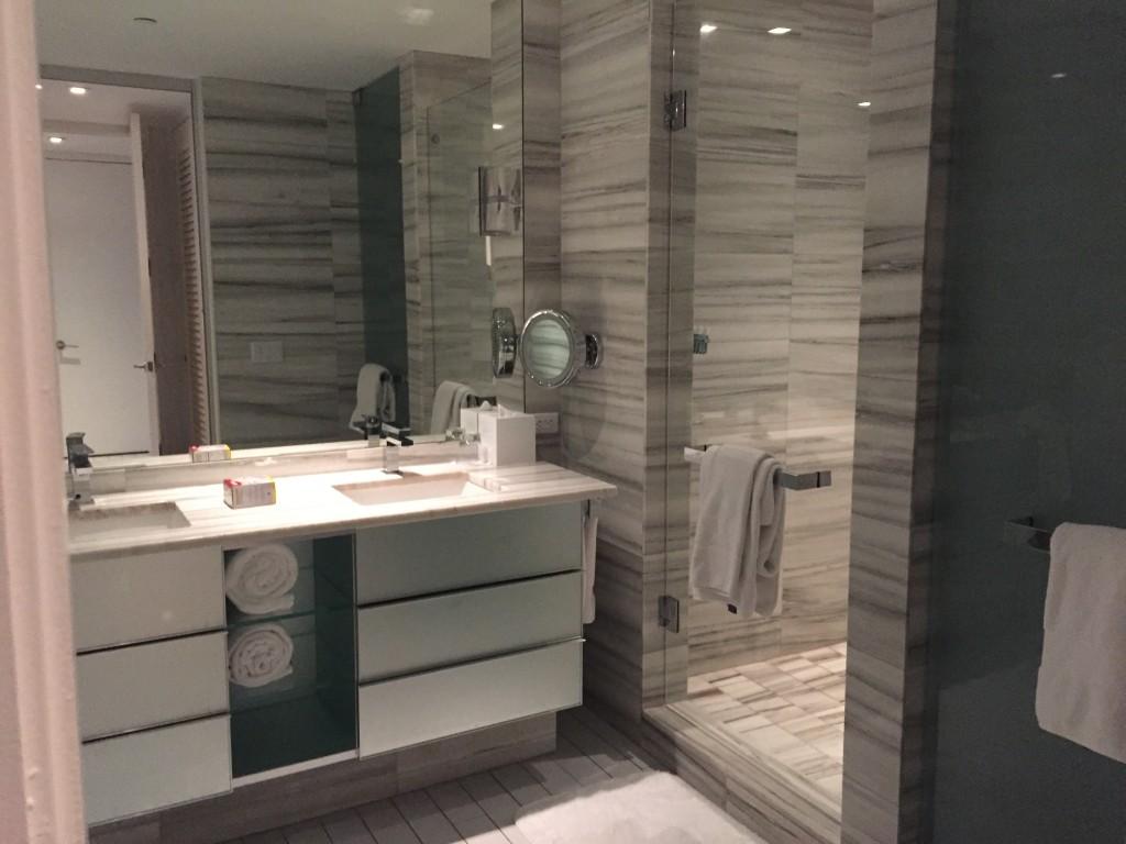 Master Bedroom Bath - Sensational Suite - W Hotel South Beach