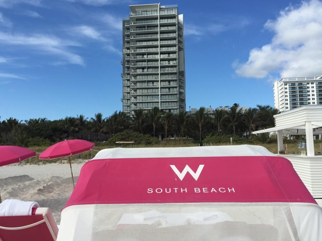 W Hotel Beach Lounge Chairs