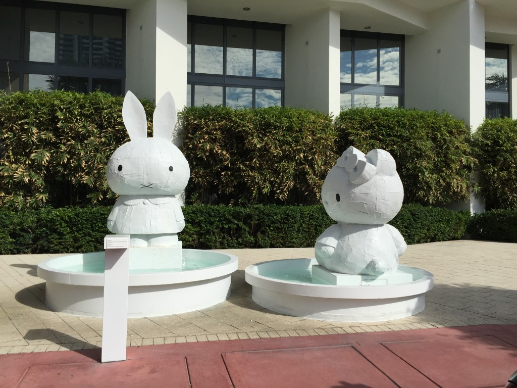 Tom Sachs -Codependent Fountain Tableau (Kitty and Miffy) '07