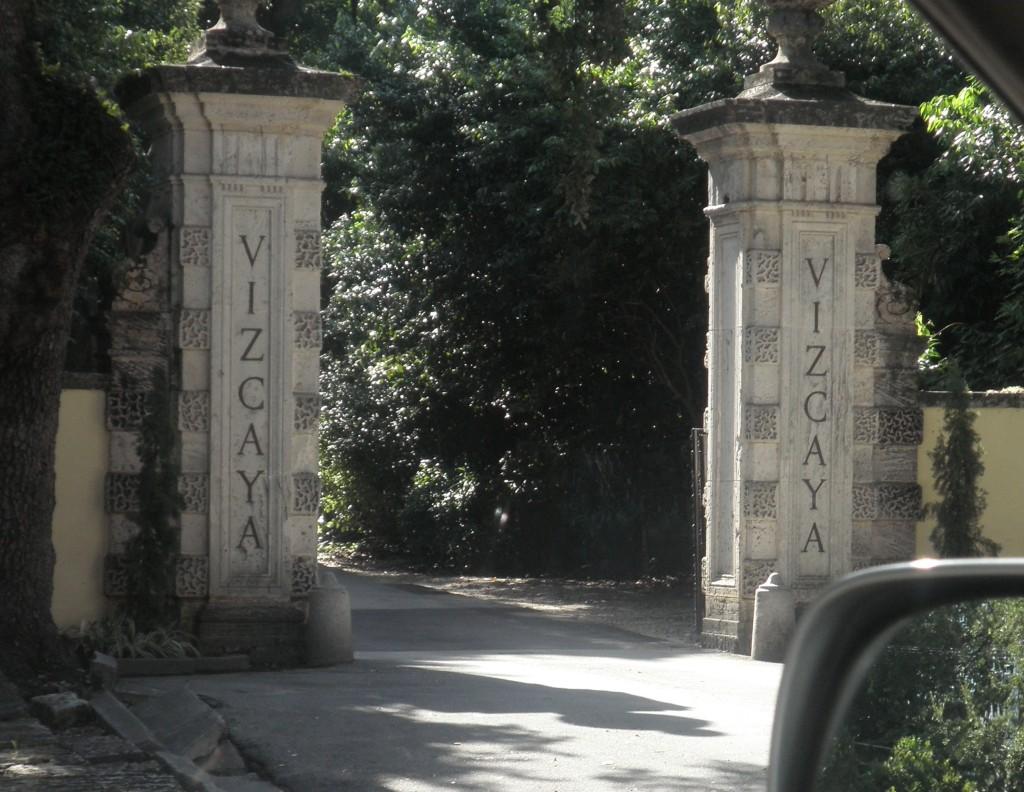 Vizcaya Museum and Garden Entrance, Miami