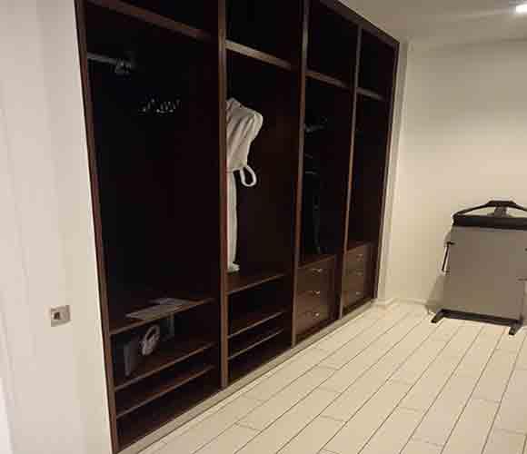 Master Bedroom Closet - Sensational Suite - W Hotel