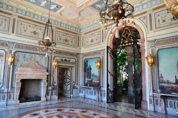 Tea Room at Vizcaya Museum and Gardens