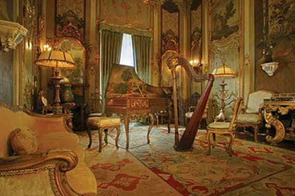 Music Room at Vizcaya Museum and Gardens, Miami