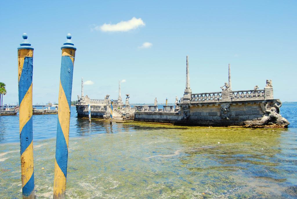 Boat Barge at Vizcaya Museum and Gardens (photo credit: Virginia Duran)