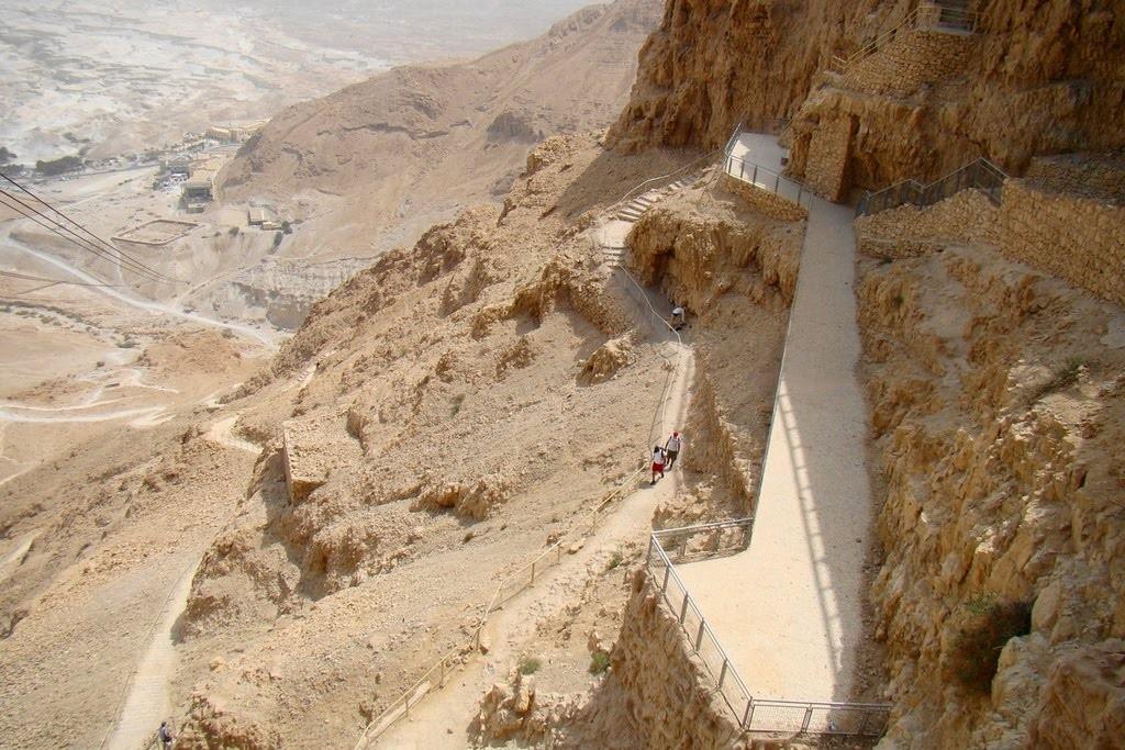 Snake Path Masada