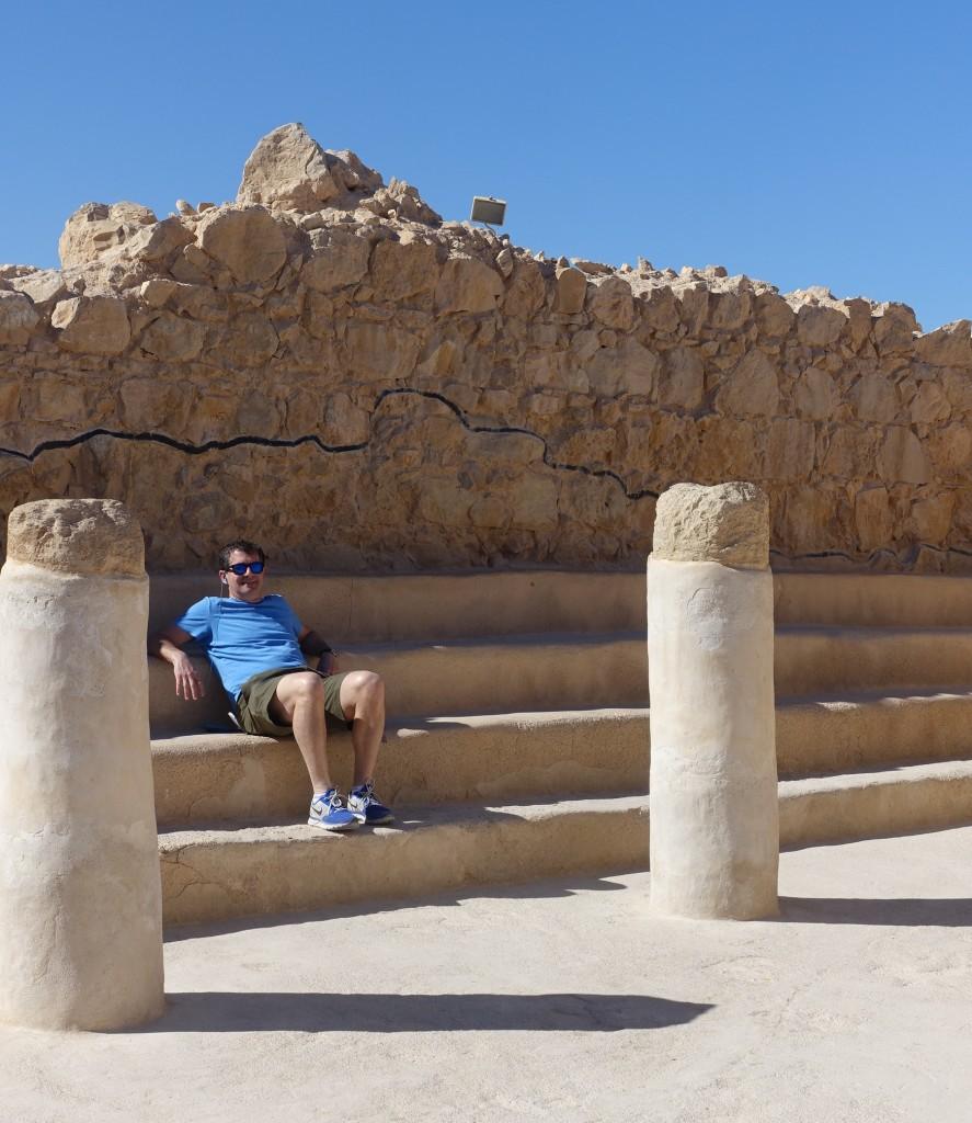 Synagogue on Masada, Israel