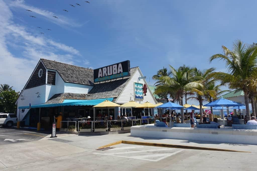 Beach Aruba Cafe