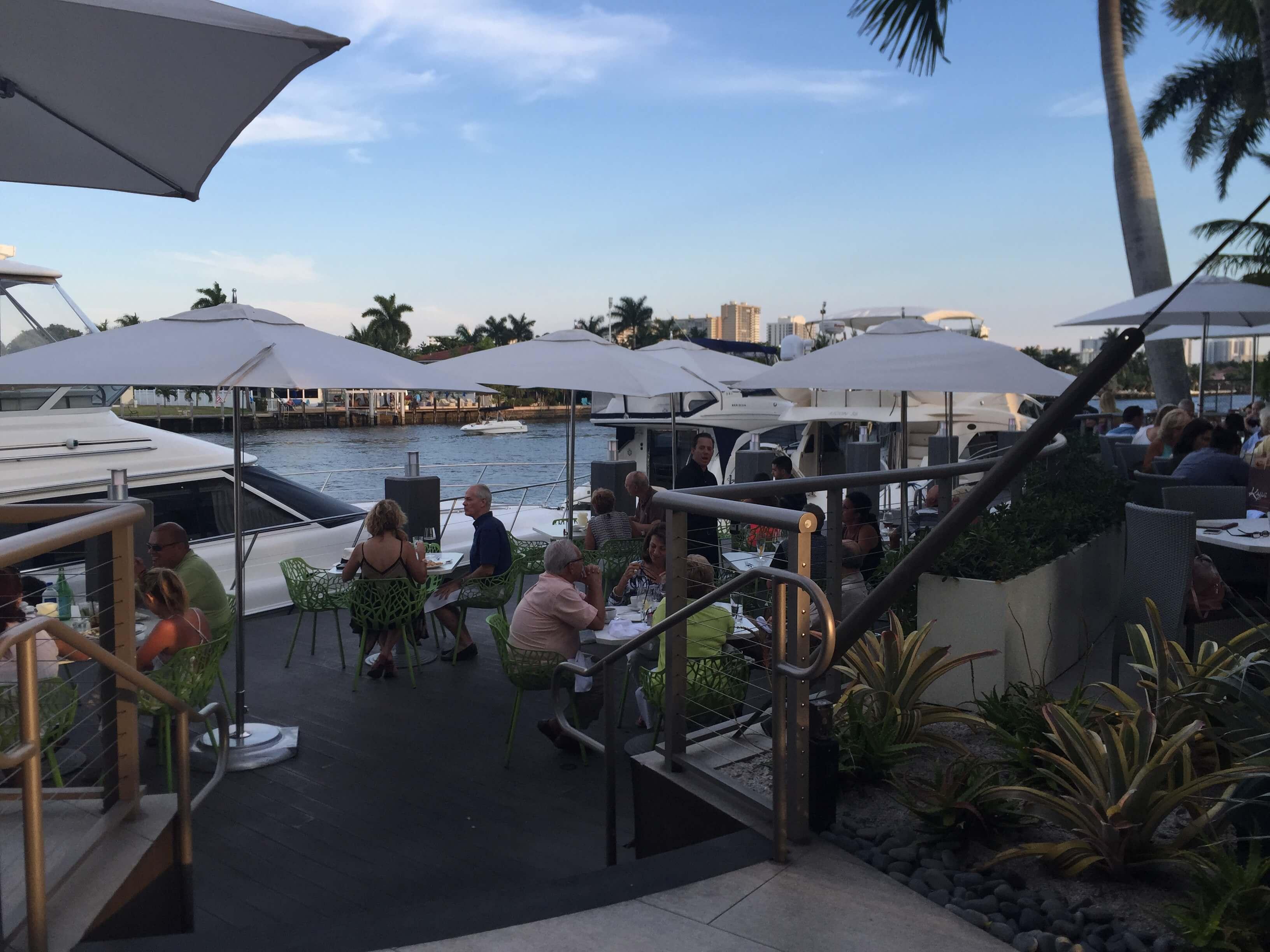 Kaluz Restau Outdoor Dining Fort Lauderdale