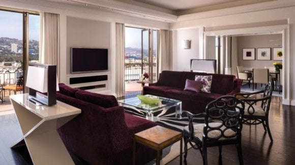 Beverly Presidential Suite Living Room