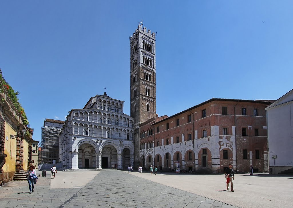 Cathedral of St. Martin, Lucca, Italy