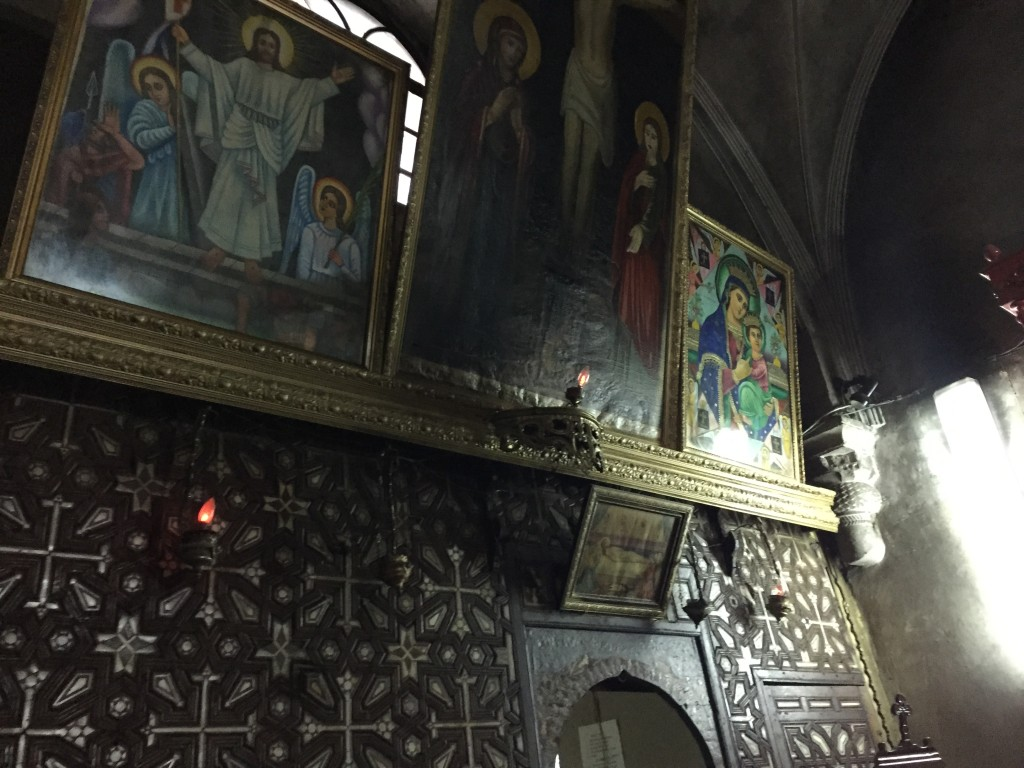Ethiopian Orthodox Chapel of St. Anthony inside the Church of the Holy Sepulchre, Jerusalem